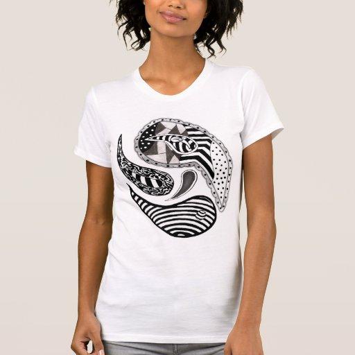 Paisleys loco camiseta