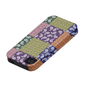 Paisleys Patchwork Pattern Phone Case iPhone 4 Cases