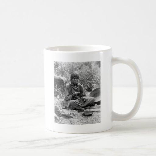 Paiute Basket Maker, 1902 Mug