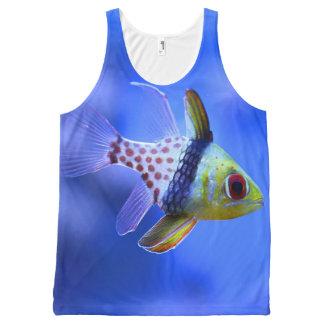 Pajama Cardinalfish All-Over Print Tank Top
