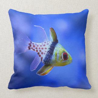 Pajama Cardinalfish Throw Pillow