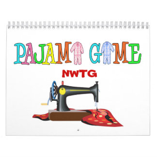 Pajama Game Calendar