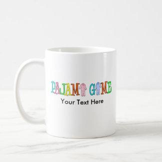 Pajama Game Customize It! Classic White Coffee Mug