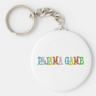 Pajama Game Keychain