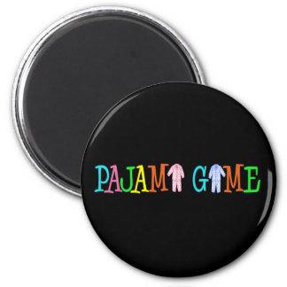 Pajama Game Refrigerator Magnets