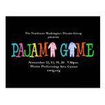 Pajama Game NWTG Postcard