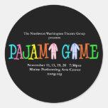 Pajama Game NWTG Sticker