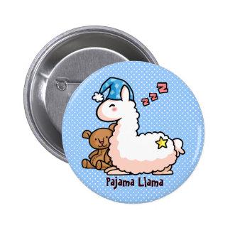 Pajama Llama Button