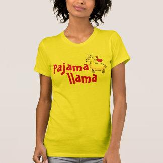 Pajama Llama Pajama Top T-shirt