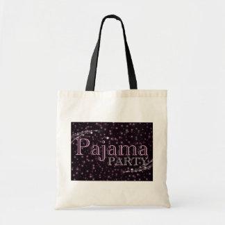 pajama party accessories : starshine budget tote bag