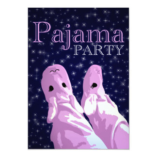 pajama party invitations : nightshine
