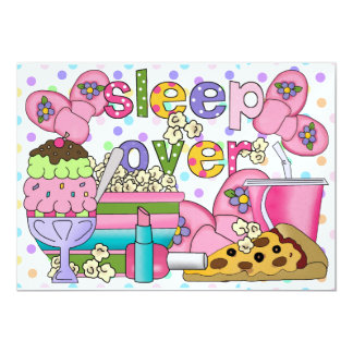 Pajama Party / Sleep Over - SRF Card