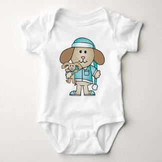 Pajama Puppy & Lovey Bunny Baby Bodysuit