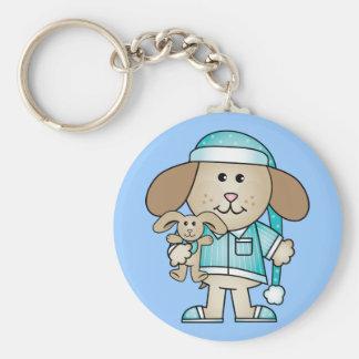 Pajama Puppy & Lovey Bunny Keychain