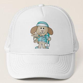 Pajama Puppy & Lovey Bunny Trucker Hat