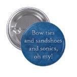 ¡Pajaritas y sandshoes y sonics, oh mi!