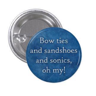 ¡Pajaritas y sandshoes y sonics oh mi