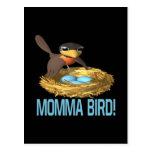 Pájaro 6 de Momma Tarjetas Postales
