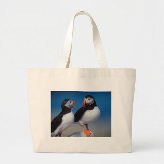 pájaro a los pares de frailecillos bolsas