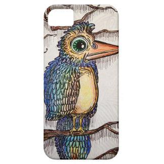 Pájaro abstracto iPhone 5 protectores