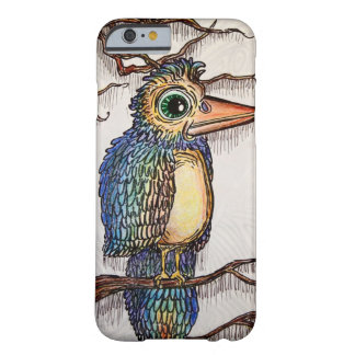 Pájaro abstracto funda de iPhone 6 barely there