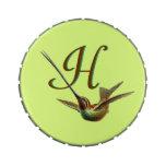 Pájaro adaptable de Haeckel del vintage Latas De Caramelos