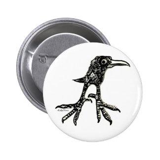 Pájaro adolescente pins