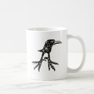 Pájaro adolescente taza de café