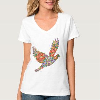 Pájaro AFORTUNADO del ángel. CAMISA BIEN ESCOGIDA