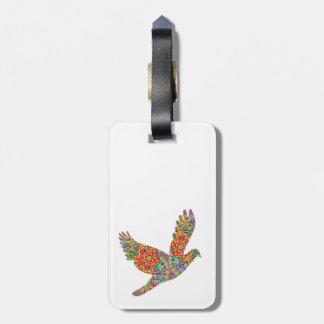 Pájaro afortunado del ÁNGEL - REGALO perfecto de G Etiqueta De Maleta
