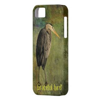¡Pájaro agraciado! iPhone 5 Fundas