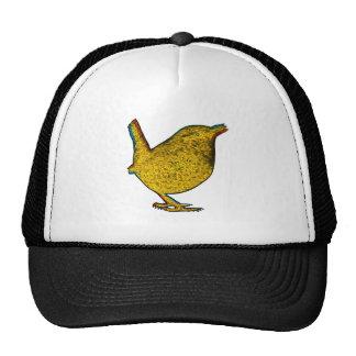 Pájaro amarillo del Rad Gorras