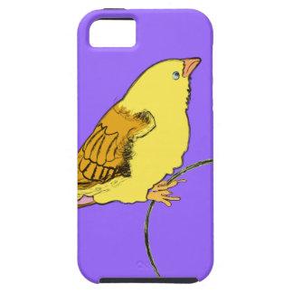 Pájaro amarillo funda para iPhone SE/5/5s