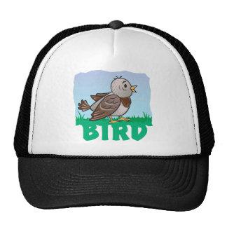 Pájaro amistoso gorras