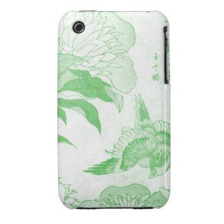 Pájaro antiguo iPhone 3 fundas
