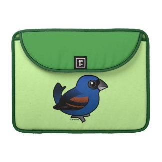 Pájaro azul funda macbook pro