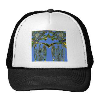 Pájaro azul gorra