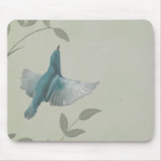 Pájaro azul hermoso tapetes de ratones