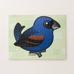 Pájaro azul puzzles con fotos