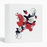pájaro blanco y negro rojo y vector precioso de la