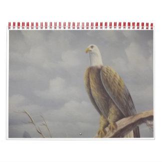 pájaro calendarios de pared