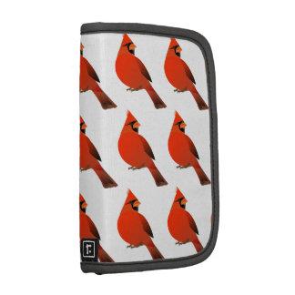 Pájaro cardinal masculino organizadores