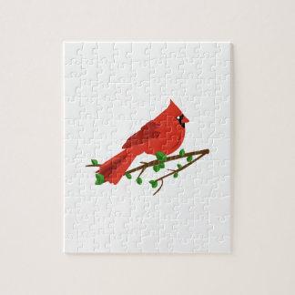 Pájaro cardinal puzzle