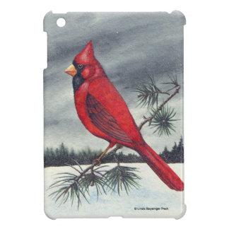 Pájaro cardinal rojo