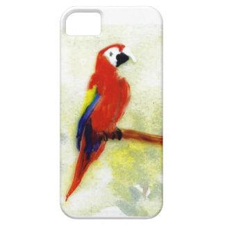 Pájaro colorido del Macaw iPhone 5 Case-Mate Coberturas