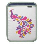 Pájaro colorido funda para iPads