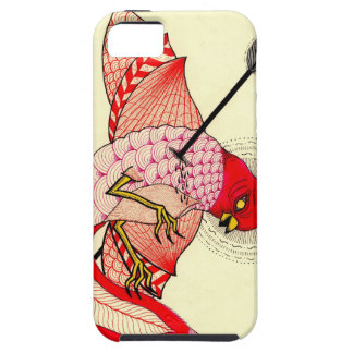 pájaro con la flecha iPhone 5 carcasas