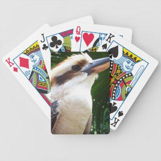 pájaro contra Kookaburra verde Cartas De Juego