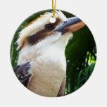 pájaro contra Kookaburra verde Ornamentos Para Reyes Magos