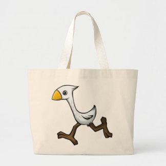 Pájaro corriente bolsas